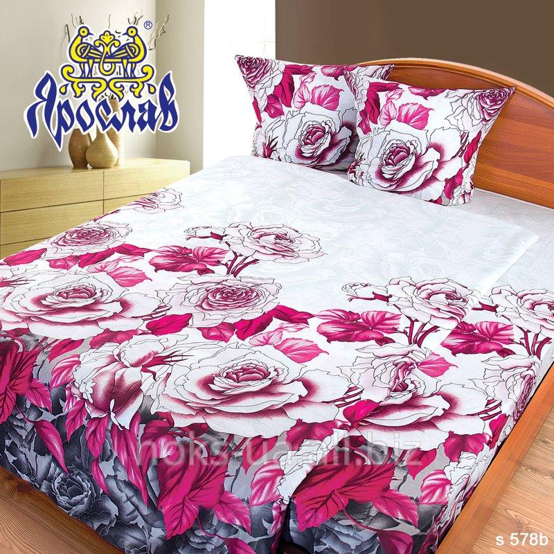 Комплект постельного белья - сатин, s 578b, двойной (175х215 см)
