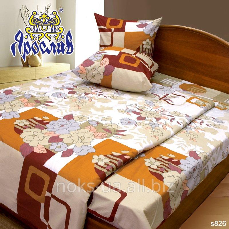 Комплект постельного белья - сатин, s 826, двойной (175х215 см)