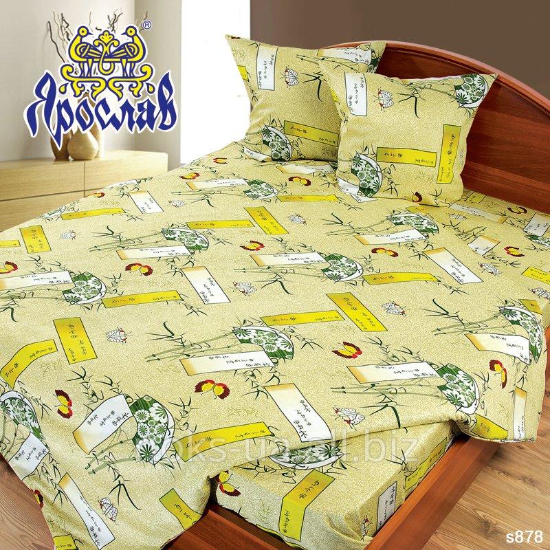 Комплект постельного белья - сатин, s 878, двойной (175х215 см)