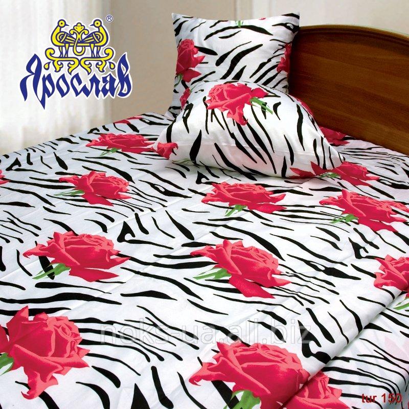 Комплект постельного белья бязь люкс ТМ Ярослав, (Копия), двойной (175х215 см)