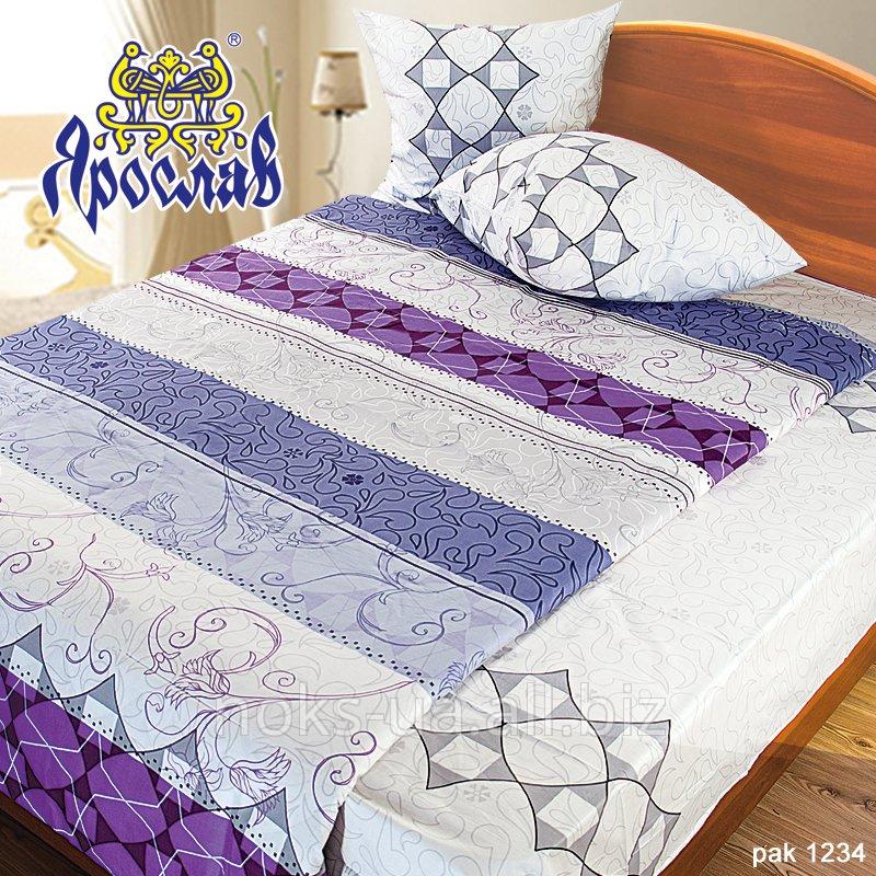 Комплект постельного белья бязь люкс ТМ Ярослав, pak1234, двойной (175х215 см)
