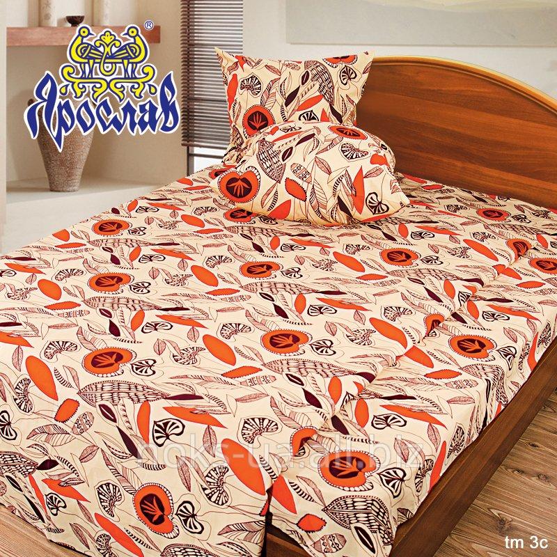 Комплект постельного белья бязь люкс ТМ Ярослав, tm3с, двойной (175х215 см)