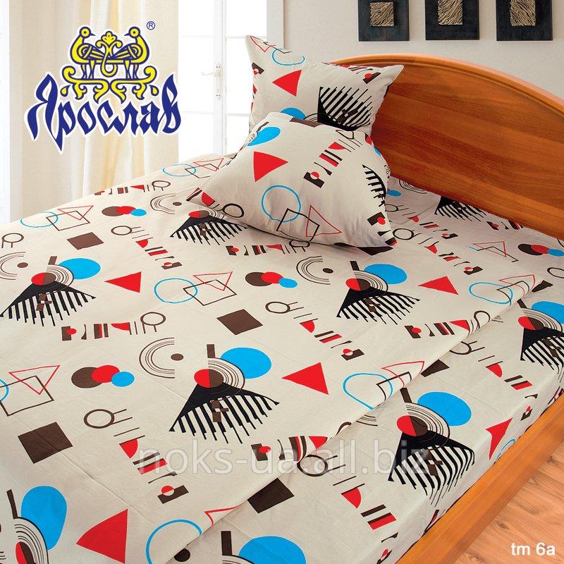 Комплект постельного белья бязь люкс ТМ Ярослав, tm6a, двойной (175х215 см)