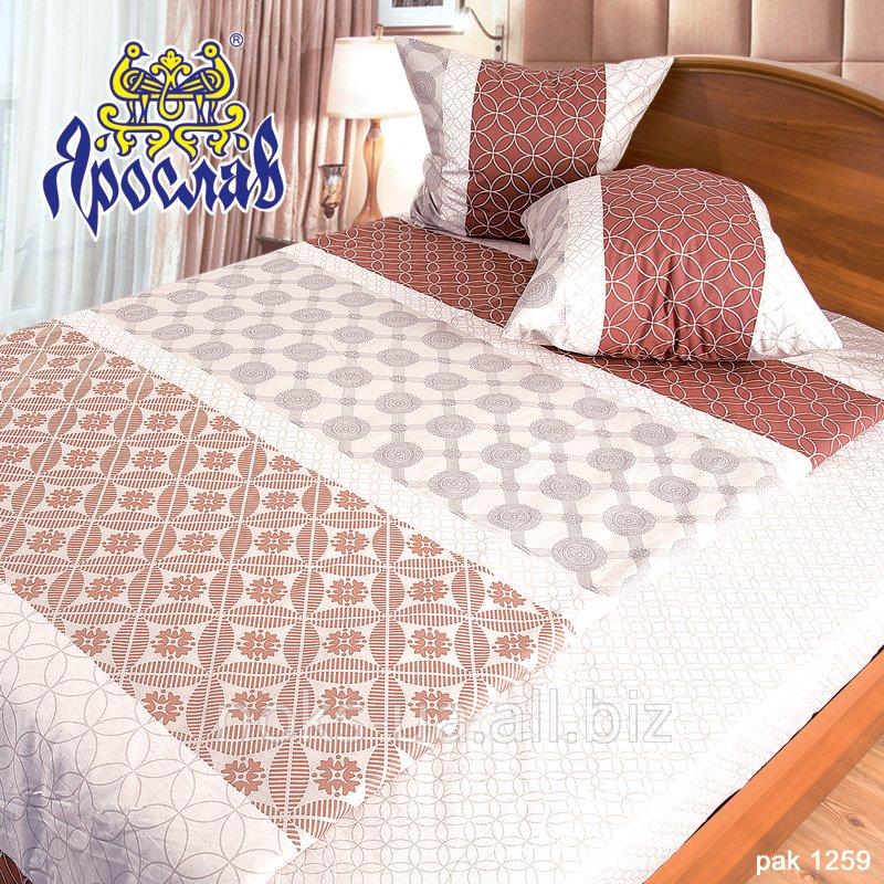 Комплект постельного белья бязь набивная ТМ Ярослав, pak1259, двойной (175х215 см)