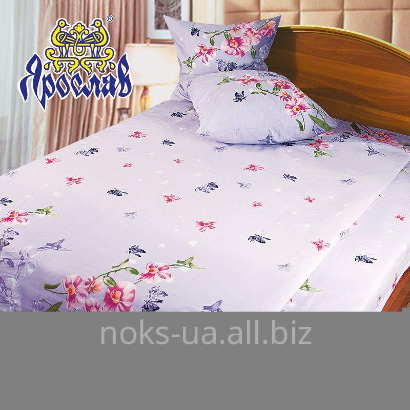 Комплект постельного белья бязь набивная ТМ Ярослав, t122, двойной (175х215 см)