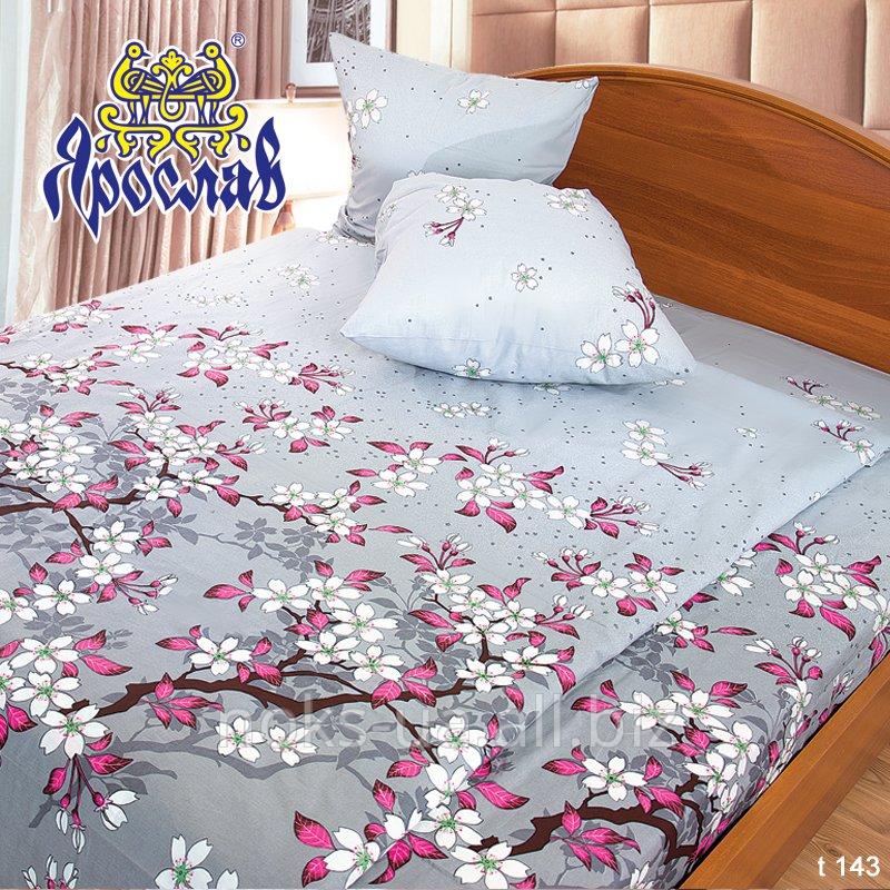 Комплект постельного белья бязь набивная ТМ Ярослав, t143, двойной (175х215 см)