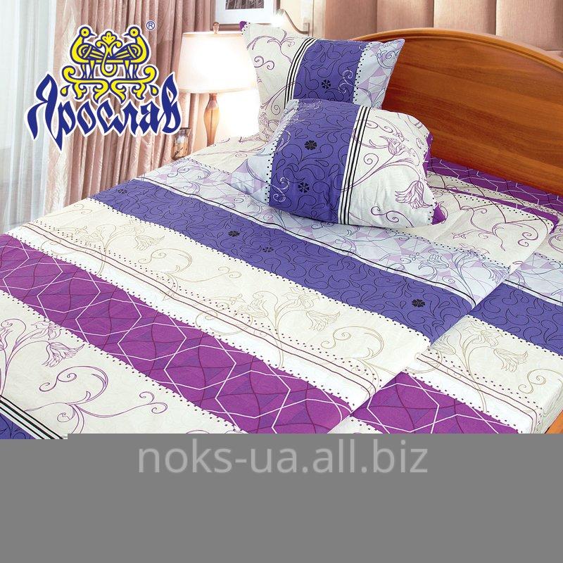 Комплект постельного белья бязь набивная ТМ Ярослав, t151, двойной (175х215 см)