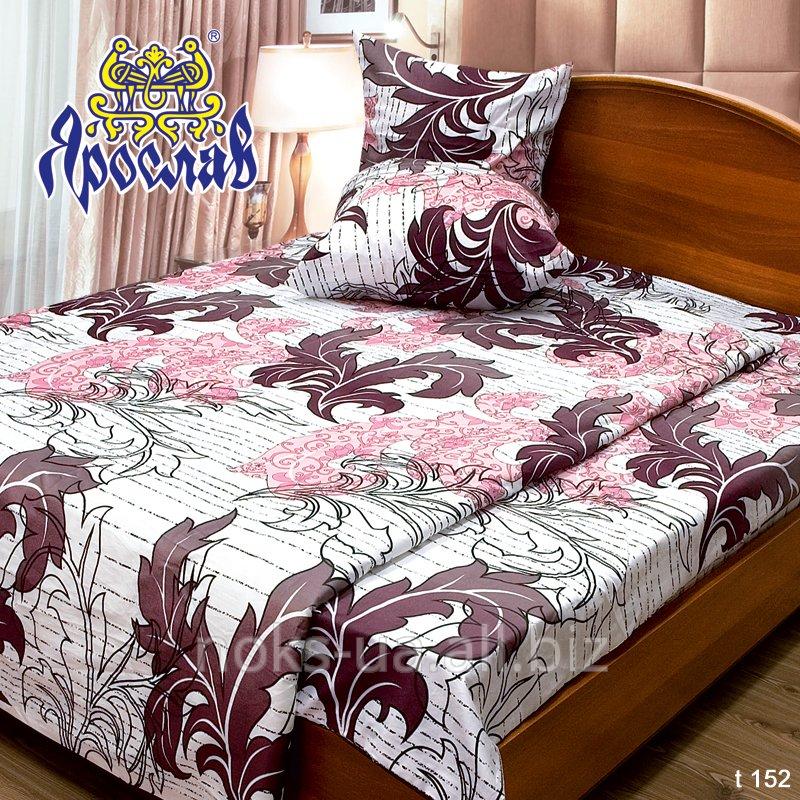 Комплект постельного белья бязь набивная ТМ Ярослав, t152, двойной (175х215 см)