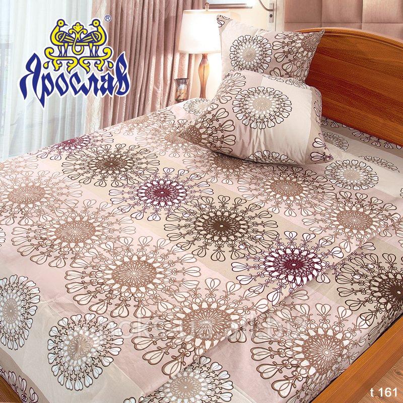 Комплект постельного белья бязь набивная ТМ Ярослав, t161, двойной (175х215 см)