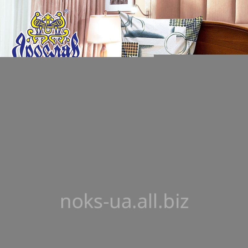 Комплект постельного белья бязь набивная ТМ Ярослав, t170, двойной (175х215 см)