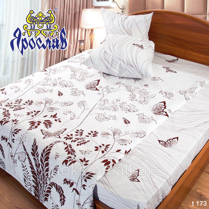 Комплект постельного белья бязь набивная ТМ Ярослав, t173, двойной (175х215 см)