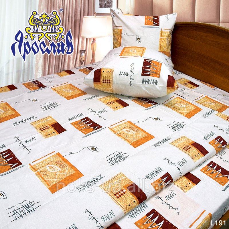 Комплект постельного белья бязь набивная ТМ Ярослав, t191, двойной (175х215 см)