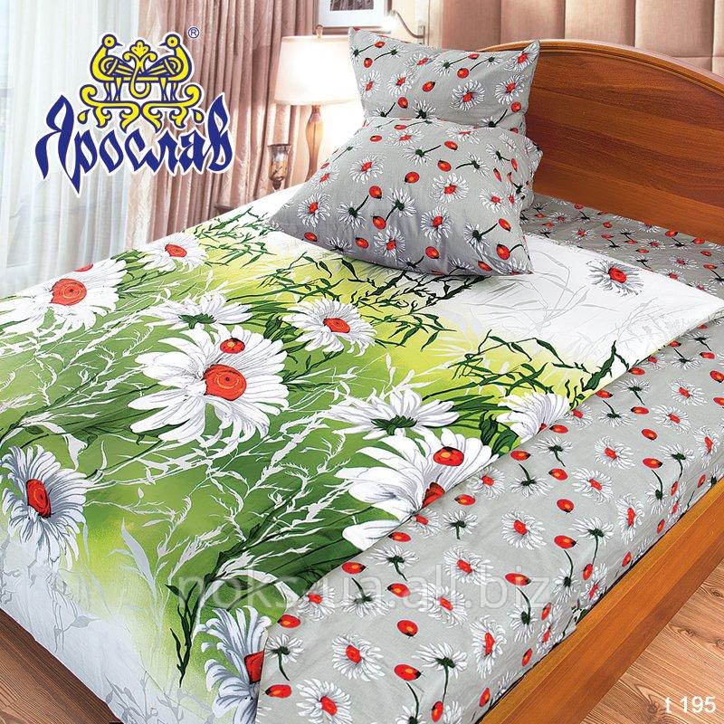 Комплект постельного белья бязь набивная ТМ Ярослав, t195, двойной (175х215 см)