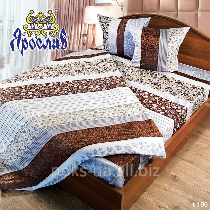 Комплект постельного белья бязь набивная ТМ Ярослав, t196, двойной (175х215 см)