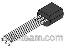 Транзистор BC547B TO-92