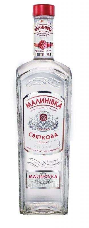 Водка особая Malinovka «Celebratory » 0,5 л на экспорт