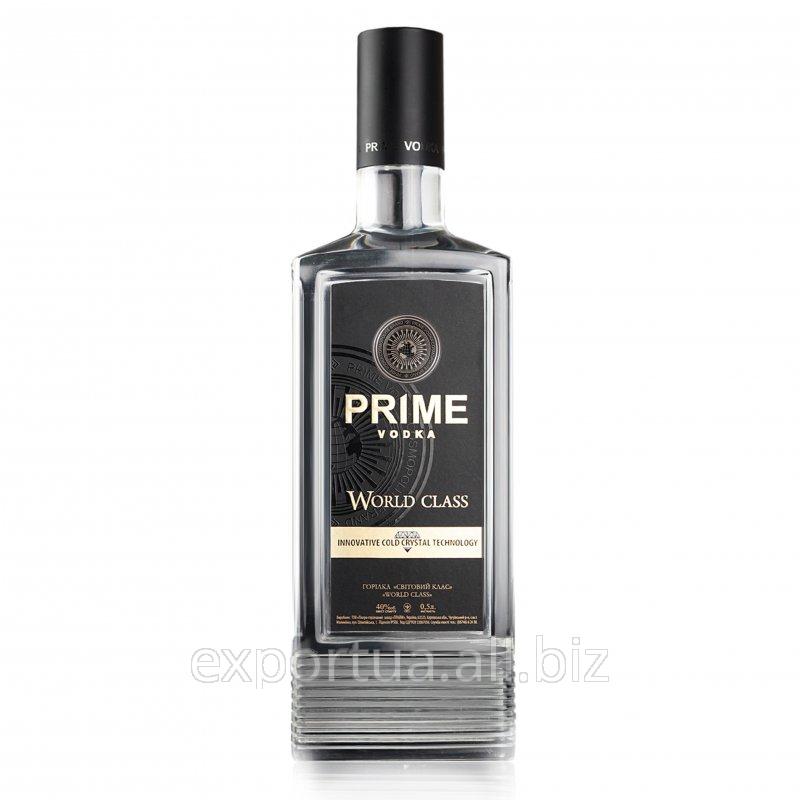 Водка особая Prime «World Class» 0,7 л на экспорт
