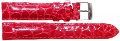 Купить Ремешок для часов из кожи крокодила (ALWS 01 Red)