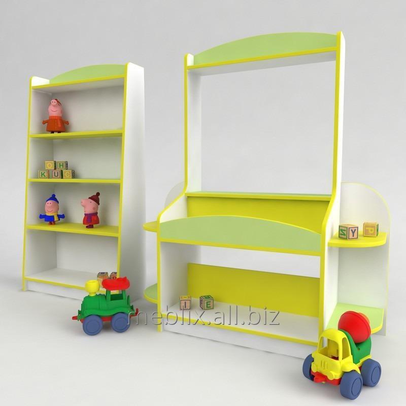 Купить Детская игровая стенка Магазин. Мебель для детского сада