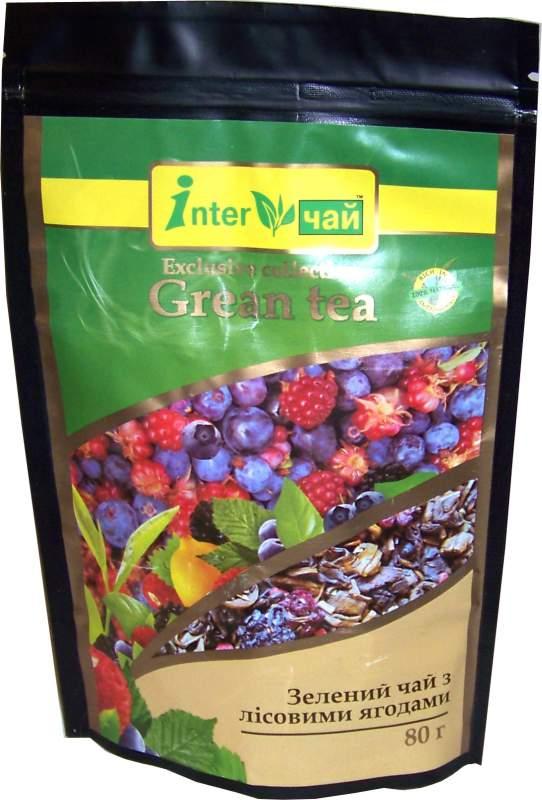 Купить Чай зеленый с лесными ягодами