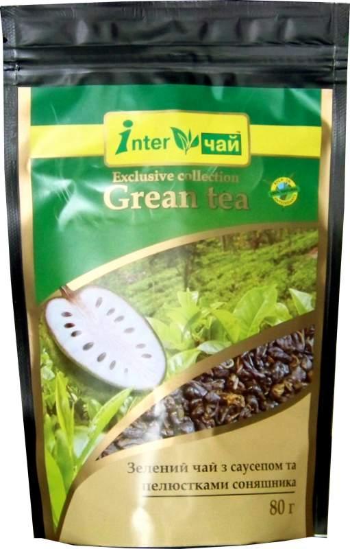 Купить Чай зеленый с саусепом