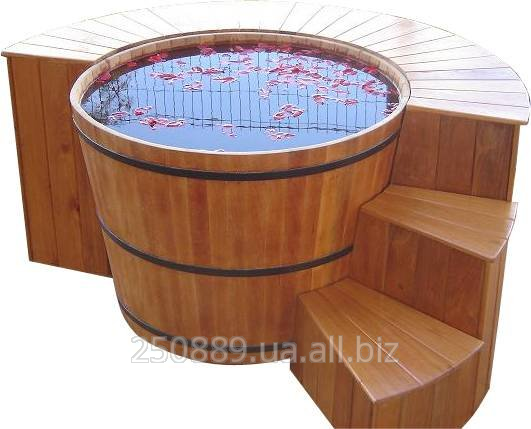 Купить Купель для бани и сауны 820-1500-1200