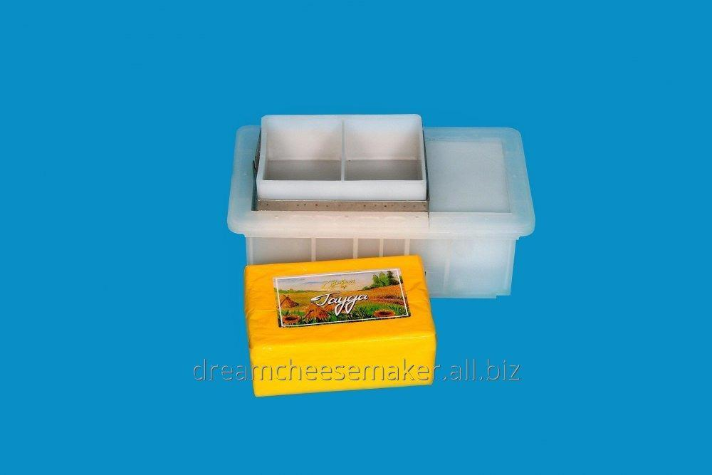 Form for firm loaf cheese weighing head from 2 kg.