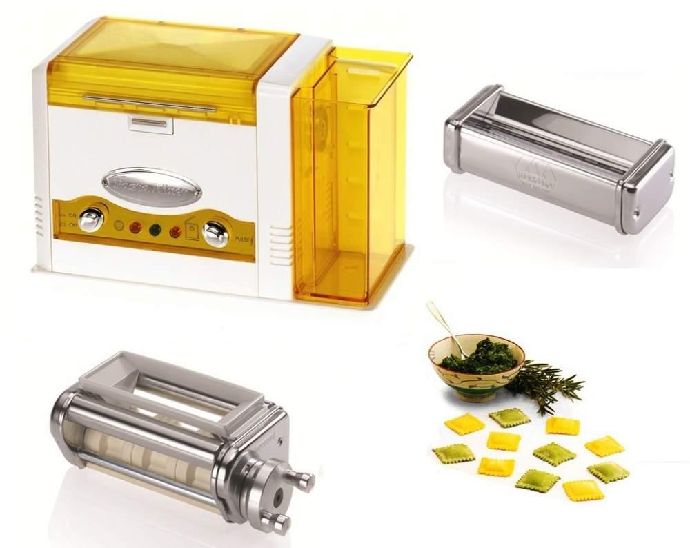 Buy Electro pelmennitsa of elektropelmenniyets of Marcato Pasta Mixer Roller Ravioli