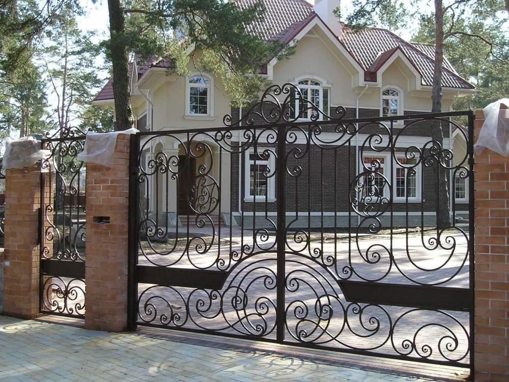 Ворота в ездные купить киев установить ворота в казани