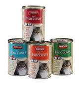 Tinned cat food