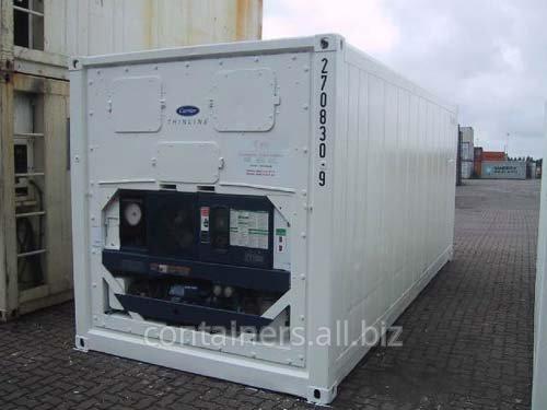 Рефрижераторные контейнеры 20 футов 1997-1999 гг. выпуска, рефконтейнер
