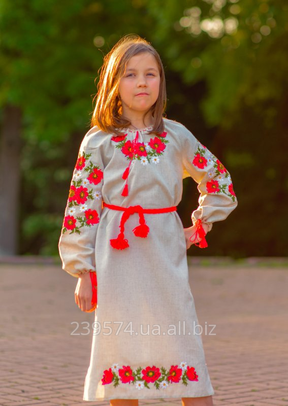 Дитяча вишита сукня