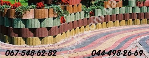 Плитка тротуарна й інші елементи благоустрою території