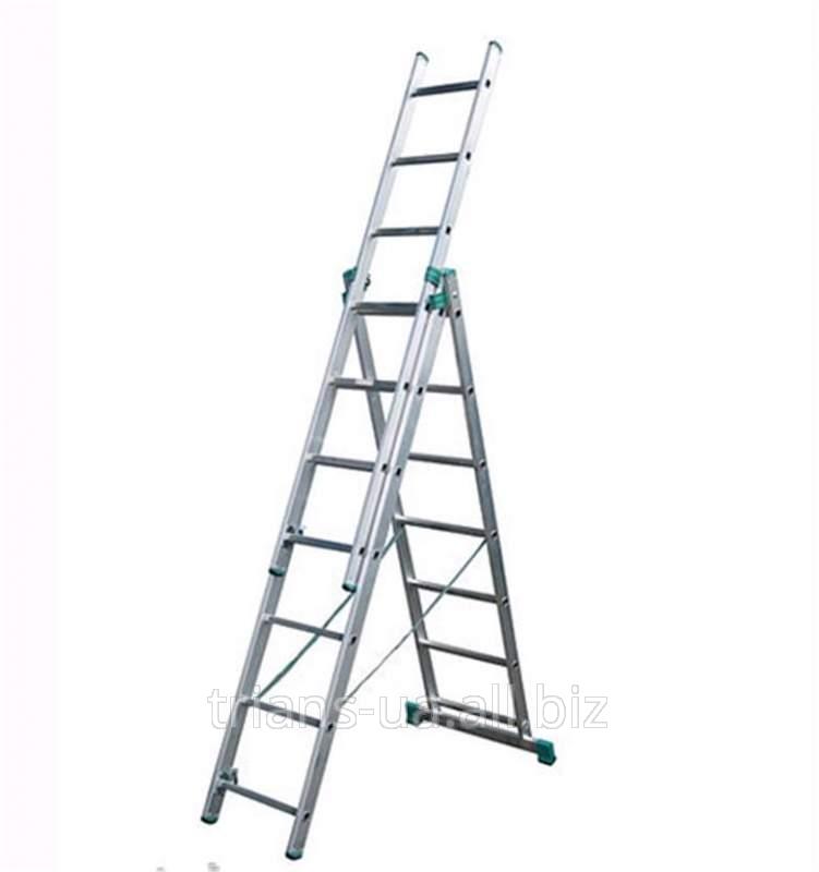 Купить Лестница раскладная 3-секционная 3х7 AXIAL