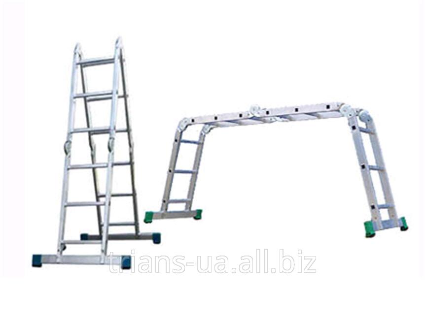 Купить Лестница трансформер 4х3 AXIAL, шарнирная 4-секционная