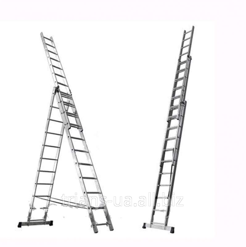 Купить Лестница раскладная 3-секционная 3х13 AXIAL