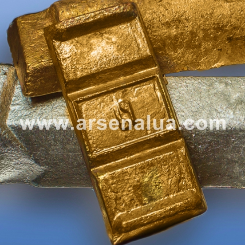 Buy Brass foundry HP, LOS, LX, LA in accordance with GOST 1020-97