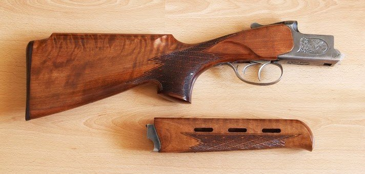 Приклад на охотничье ружье своими руками видео