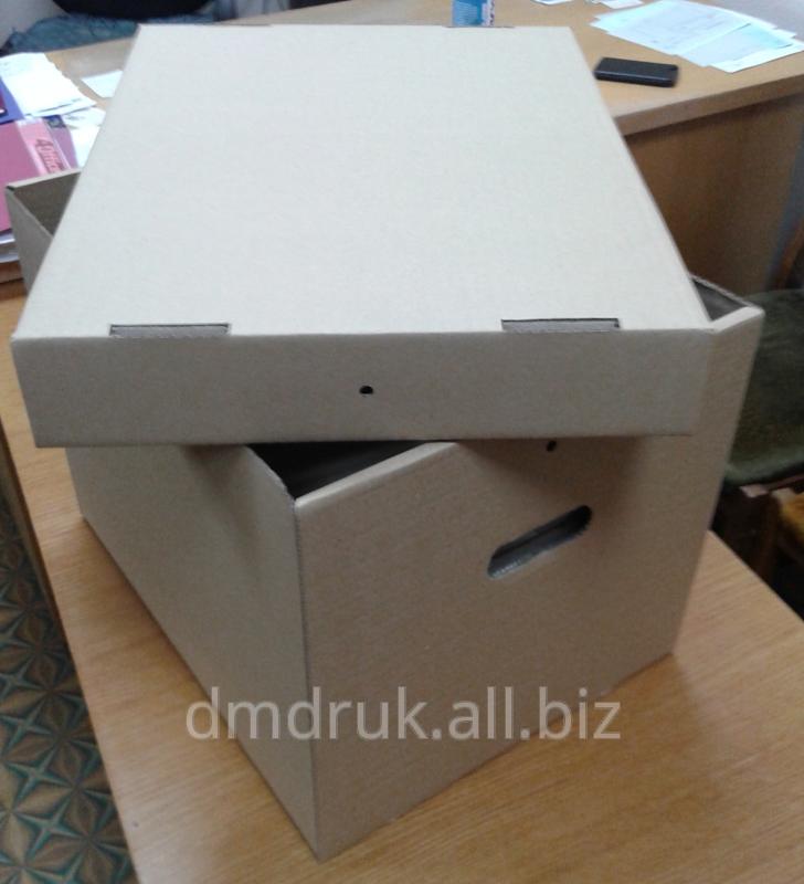 Архивная коробка из гофрокартона
