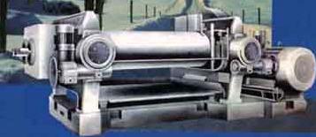 Вальцы для переработки резины и пластмасс