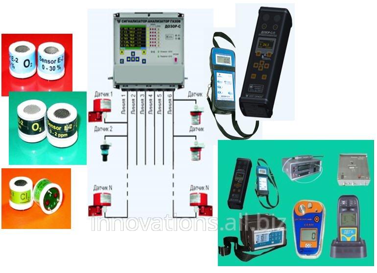 Инновация: Электрохимические газовые сенсоры для нализаторов атмосферы. IF0042