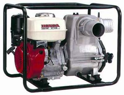 Motor-pumps for dirty HONDA WT40 water the official dealer of HONDA.