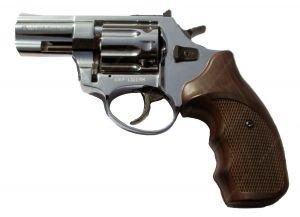 Купить Револьвер под патрон Флобера Ekol Major Eagle 2.5 Shiny Chrome wood