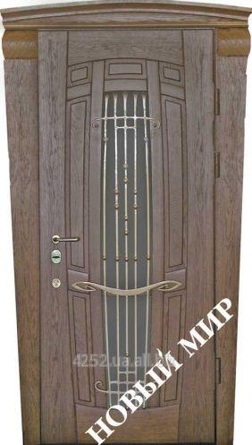Входные двери металлические Арфа