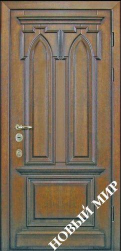 Входные двери металлические, категория 5, Готика