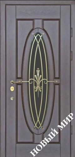 Входная дверь металлическая, категория 4, Зеркало