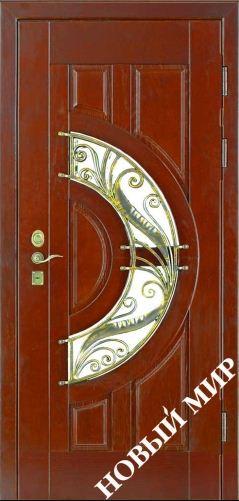 Входная дверь металлическая, категория 4, Рассвет2