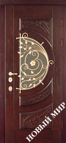 Входная дверь металлическая, категория 4, Незабудка