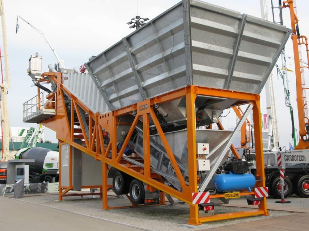 Бетонные заводы мобильный бетонозавод CIFA