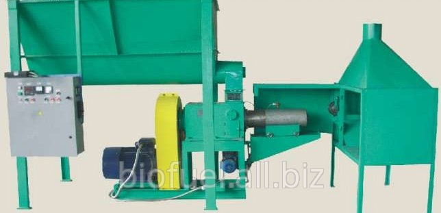 Buy Installing the auger for briquetting UBT-300 (Ukraine)